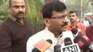 Bihar Assembly Elections 2020: बिहार चुनाव को लेकर शिवसेना नेता संजय राउत का तंज, बोले- अगर मुद्दे खत्म हो गए हैं तो मुंबई से पार्सल किए जा सकते हैं