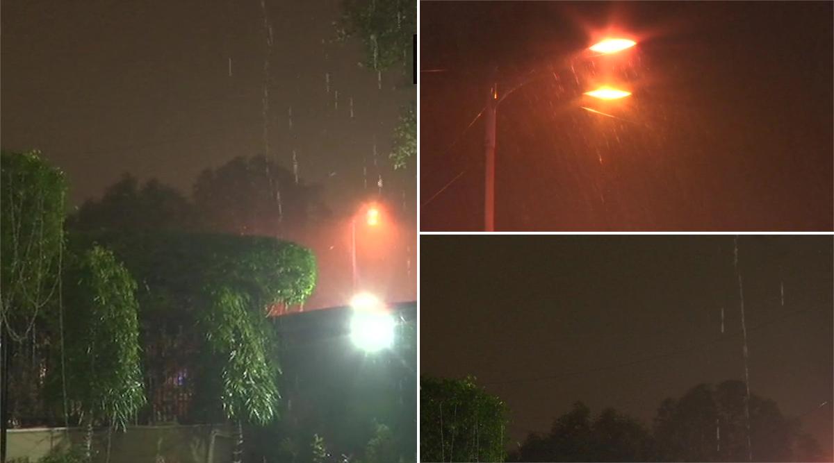 राजधानी में हुई झमाझम बारिश, दिल्ली वासियों को प्रदूषण से मिली राहत