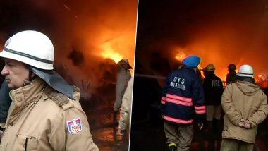 दिल्ली: मुंडका में लकड़ी के गोदाम में लगी आग, फायर ब्रिगेड की 21 गाड़ियां मौके पर मौजूद- ऑपरेशन जारी