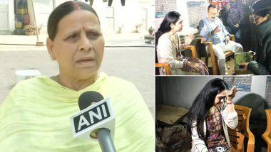 लालू की बहू ऐश्वर्या राय ने फिर लगाए मारपीट के आरोप, कहा- सास राबड़ी देवी ने मुझे मारा और बाल खींचकर घर से बाहर निकाला