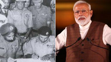 1971 युद्ध के शहीदों को PM नरेंद्र मोदी का सलाम, भारतीय सेना ने PAK के 93 हजार सैनिकों ने करवाया था आत्म समर्पण