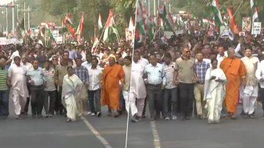 नागरिकता कानून पर बवाल: विरोध में सड़क पर उतरीं पश्चिम बंगाल की सीएम ममता बनर्जी