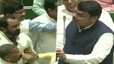 महाराष्ट्र विधानसभा में हंगामा: बीजेपी और शिवसेना विधायक हाथापाई पर उतरे, कार्यवाही स्थगित