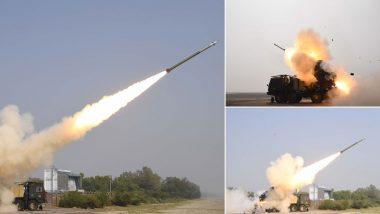 VIDEO: पिनाका मिसाइल का परीक्षण सफल, 90 किमी तक बैठे दुश्मनों पर लगा सकता है अचूक निशाना