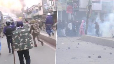 बिहार: CAA के विरोध में इंसान ने भैंसों को भी उतारा
