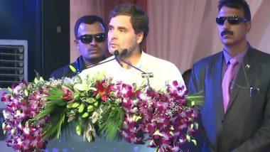 छत्तीसगढ़ के रायपुर में बोले राहुल गांधी- सभी धर्मों और जातियों के लोगों को साथ लिए बिना नहीं चल सकती भारत की अर्थव्यवस्था