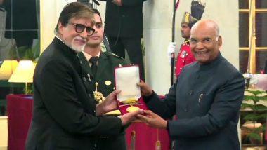 अमिताभ बच्चन को मिला दादा साहेब फाल्के पुरस्कार, जनता के प्रति अदा की शुक्रिया