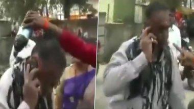 महाराष्ट्र: उद्धव ठाकरे पर टिप्पणी करना पड़ा भारी, बीड में महिला ने शख्स पर डाली स्याही: देखें VIDEO