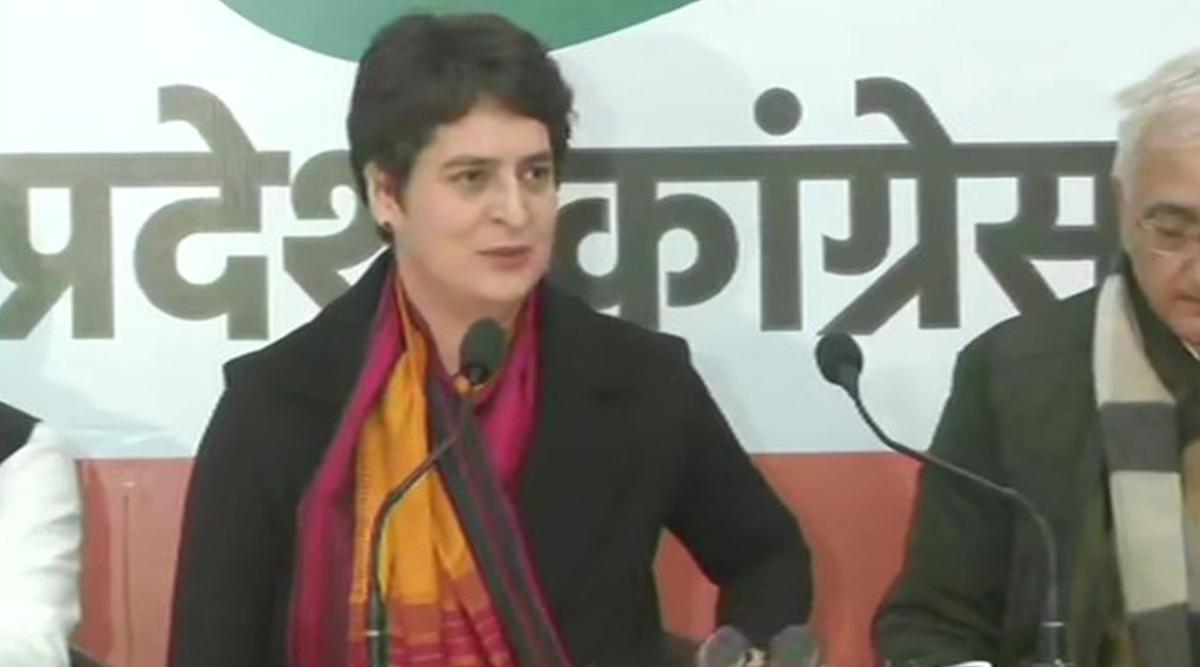 कांग्रेस महासचिव प्रियंका गांधी कल वाराणसी दौरे पर, संत शिरोमणि रविदास जयंती कार्यक्रम में होंगी शामिल