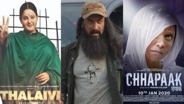 'तानाजीः द अनसंग वॉरियर' से 'छपाक' तक, 2020 की 10 बहुप्रतीक्षित फिल्में, जो रच सकती हैं इतिहास!