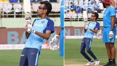 युजवेंद्र चहल ने पोलार्ड के बल्ले के साथ इंस्टाग्राम पर शेयर की तस्वीर, कप्तान विराट कोहली ने उड़ाया मजाक