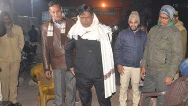 उत्तर प्रदेश: बांदा के जिलाधिकारी ने ठंड से कांप रहे गरीबों का हाल जाना, कई जगहों का किया निरीक्षण
