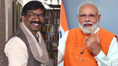 पीएम मोदी ने हेमंत सोरेन को मुख्यमंत्री पद की शपथ लेने पर दी बधाई, कहा-  झारखंड के विकास के लिए केंद्र हर संभव मदद को तैयार
