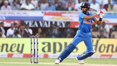 WI 202/5 in 30.5 Overs (Target 387/5) | India vs West Indies 2nd ODI 2019 Live Score Update: वेस्टइंडीज के 200 रन हुए पूरे