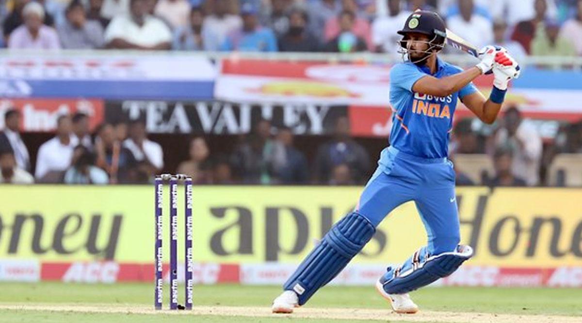 WI 202/5 in 30.5 Overs (Target 387/5)   India vs West Indies 2nd ODI 2019 Live Score Update: वेस्टइंडीज के 200 रन हुए पूरे