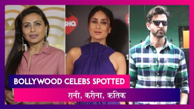 Mardaani 2 की Screening में Rani Mukerji, Kareena के चैट शो में Sonali-Taapsee | Celebs Spotted