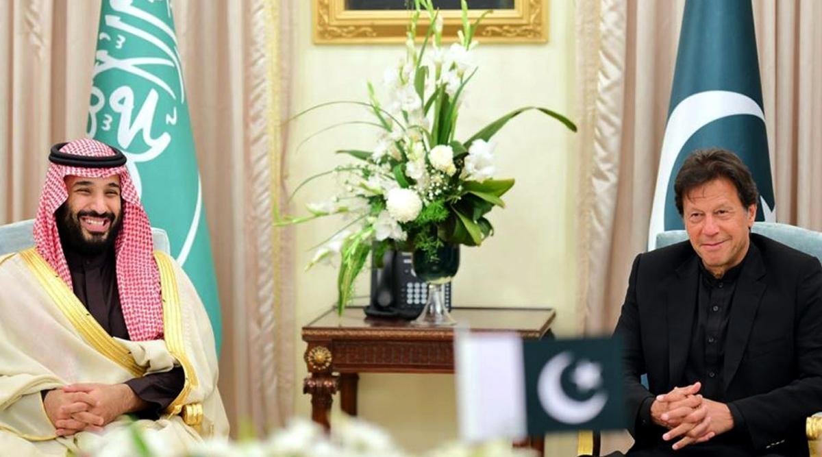 पाकिस्तानी PM इमरान खान ने सऊदी क्राउन प्रिंस मोहम्मद बिन सलमान संग द्विपक्षीय संबंधों और सुरक्षा पर की चर्चा
