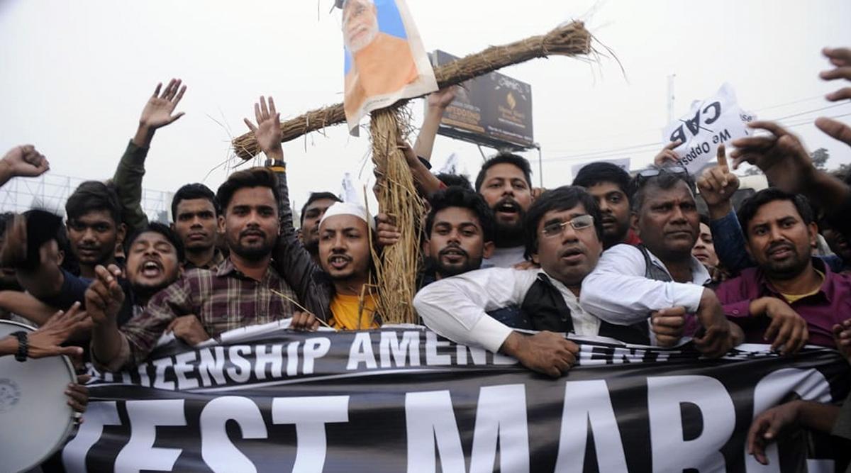 बिहार में नागरिकता संशोधन विधेयक के खिलाफ सड़क पर उतरे लोग