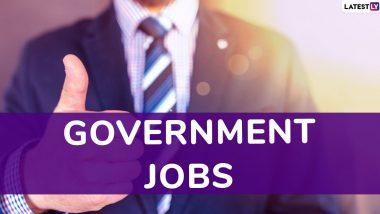 Sarkari Naukri: 10वीं पास युवाओं के लिए नौकरी का बड़ा मौका, इस सरकारी महकमे में भर्ती शुरू- अभी करें अप्लाई
