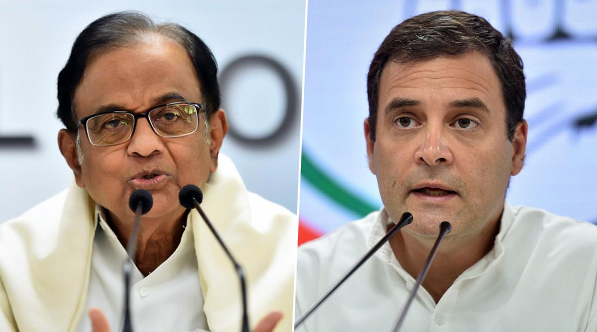 चिदंबरम को सुप्रीम कोर्ट से जमानत मिलने पर राहुल गांधी ने कहा- उन्हें 106 दिन कैद में रखना बदले की कार्रवाई थी