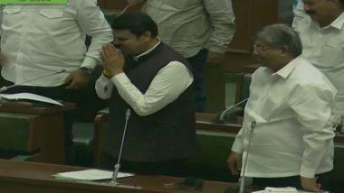 महाराष्ट्र: पूर्व सीएम देवेंद्र फडणवीस बने विधानसभा में विपक्ष के नेता