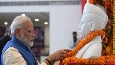 प्रधानमंत्री नरेंद्र मोदी और गृह मंत्री अमित शाह ने मदन मोहन मालवीय को उनकी जयंती पर अर्पित की श्रद्धांजलि