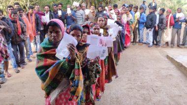 झारखंड विधानसभा चुनाव 2019: सुबह 11 बजे तक 29.19 प्रतिशत मतदान दर्ज