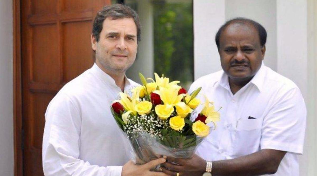 Karnataka By-Elections 2019: चुनाव के बाद बीजेपी को रोकने के लिए कांग्रेस और जेडीएस फिर मिला सकते हैं हाथ