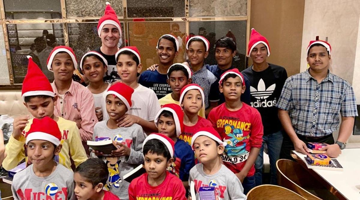 गौतम रोडे को बच्चों के साथ क्रिसमस मनाना है पसंद, सोशल मीडिया पर शेयर की तस्वीरें