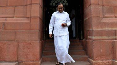 पूर्व वित्त मंत्री पी. चिदंबरम का बड़ा बयान, कहा- सरकार द्वारा दबाई जा रही है आवाज