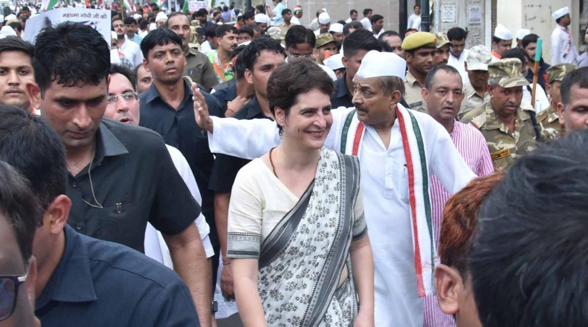 कांग्रेस महासचिव प्रियंका गांधी वाड्रा 6 और 7 दिसंबर को लखनऊ दौरे पर, 'भारत बचाओ रैली' का लेंगी जायजा