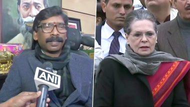 झारखंड: हेमंत सोरेन 29 दिसंबर को लेंगे CM पद की शपथ, सोनिया गांधी को भेजा जाएगा न्योता
