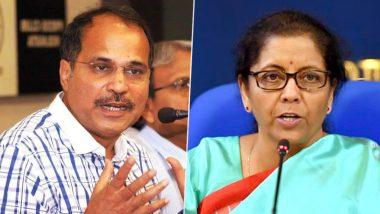 कांग्रेस नेता अधीर रंजन चौधरी ने 'निर्बला' वाले बयान पर मांगी माफी, कहा- निर्मला सीतारमण मेरी बहन की तरह