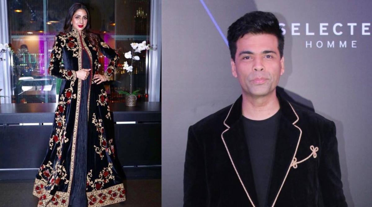फिल्मकार करण जौहर ने बॉलीवुड की दिवंगत सुपरस्टार श्रीदेवी का दुनिया की बेस्ट मिमिक के तौर पर किया वर्णन