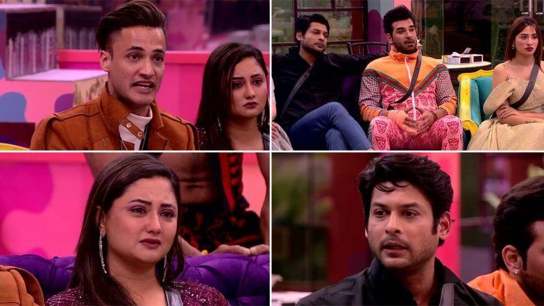 Bigg Boss 13 Weekend Ka Vaar Highlights: सलमान के सामने रश्मि देसाई और सिद्धार्थ शुक्ला ने जमकर उछाले एक दूसरे पर कीचड़, दबंग ने कहा वो शो छोड़ना चाहते हैं
