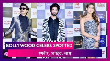 Star Screen Awards में Ranveer-Sara सहित कई सेलेब्स आए नज़र | Celebs Spotted