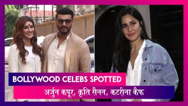Arjun Kapoor, Kriti Sanon ने किया Panipat को प्रमोट, Katrina Kaif भी हुईं स्पॉट   Celebs Spotted