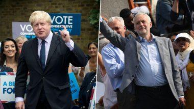 UK General Elections 2019: ब्रिटेन में आम चुनाव के लिए वोटिंग आज, सर्वे में बोरिस जॉनसन को बढ़त के आसार
