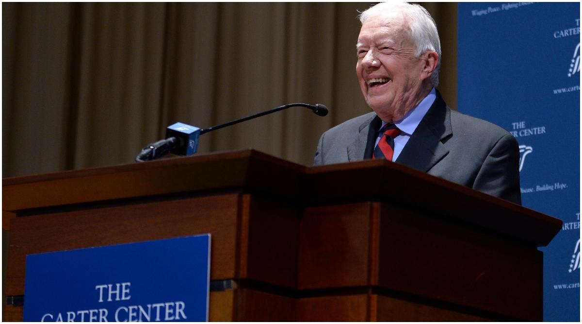 अमेरिका: पूर्व राष्ट्रपति जिमी कार्टर की बिगड़ी तबियत, अस्पताल में भर्ती