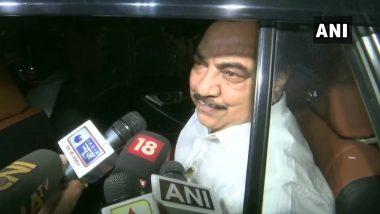 एकनाथ खडसे ने महाराष्ट्र के मुख्यमंत्री उद्धव ठाकरे से की मुलाकात, कहा- बीजेपी से नहीं, 2-3 नेताओं से हूं अपसेट