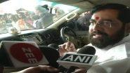 राहुल गांधी के सावरकर वाले बयान पर शिवसेना नेता एकनाथ शिंदे का पलटवार, कहा-सभी को करना चाहिए उनका सम्मान