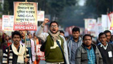 इंदौर में सीएए विरोधियों और पुलिस के बीच झड़प