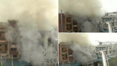 दिल्ली: नरेला की 2 फैक्ट्रियों में लगी आग, फायर ब्रिगेड की गाड़ियां मौके पर- बचाव कार्य जारी