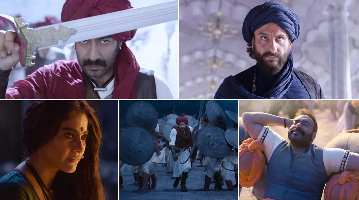 अजय देवगन की फिल्म तानाजी का तीसरा गाना 'घमंड कर' हुआ रिलीज, सुनकर जोश से भर जाएंगे आप