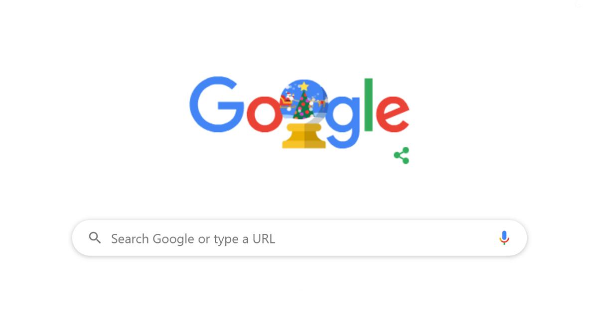 Google ने Happy Holidays 2019! का खास Doodle बनाकर लोगों को दी क्रिसमस की छुट्टियों की बधाई