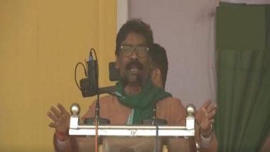 झारखंड विधानसभा चुनाव 2019: हेमंत सोरेन ने योगी को लेकर दिया विवादित बयान, यूपी के सीएम पर लगाया बहू-बेटियों की इज्जत लूटने का आरोप