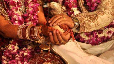Coronavirus In Maharashtra: मास्क पहनकर जोड़े ने एक निजी समारोह में किया विवाह, जनता कर्फ्यू की वजह से एक दिन पहले की शादी