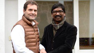 झारखंड चुनाव परिणाम 2019: जेएमएम-कांग्रेस-आरजेडी को 47 सीटों के साथ मिला बहुमत, 25 सीटों पर सिमटी बीजेपी