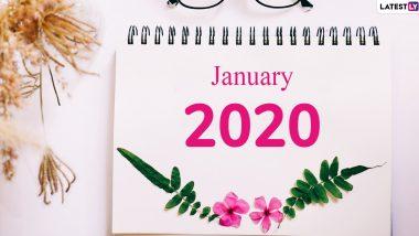 January 2020 Festival Calendar: जनवरी में मनाए जाएंगे मकर संक्रांति- गणतंत्र दिवस जैसे पर्व, देखें साल के पहले महीने में पड़ने वाले व्रत और त्योहारों की लिस्ट
