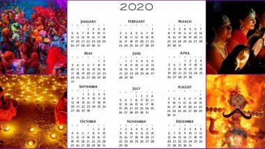 Lala Ramswaroop Calendar 2020 For Free PDF Download: नए साल में पड़ने वाले व्रत, त्योहार और छुट्टियों की देखें पूरी लिस्ट, फ्री में डाउनलोड करें लाला रामस्वरुप कैलेंडर 2020